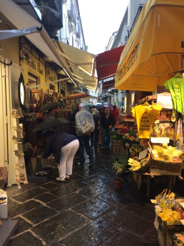 shops amalfi coast italy sorrento