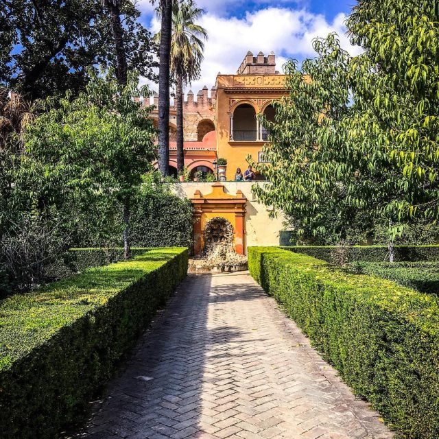 Wishing I was wandering through the beautiful Alcazar of Sevillehellip