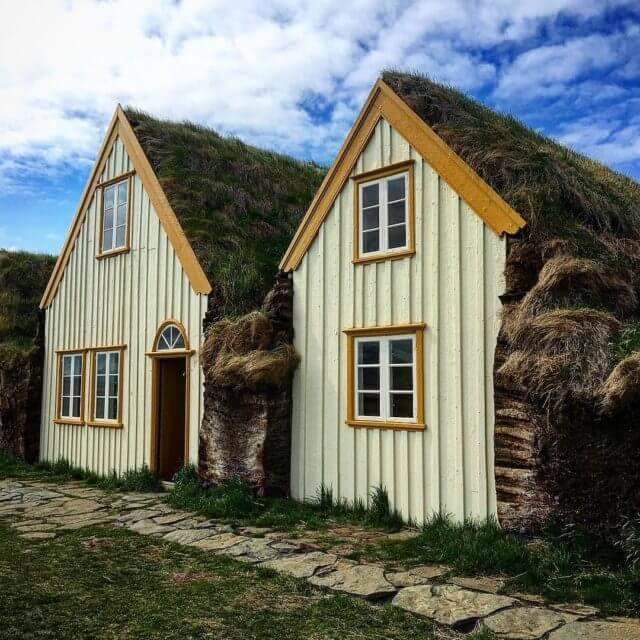 Would you stay here? Glaumbaer Iceland    hellip