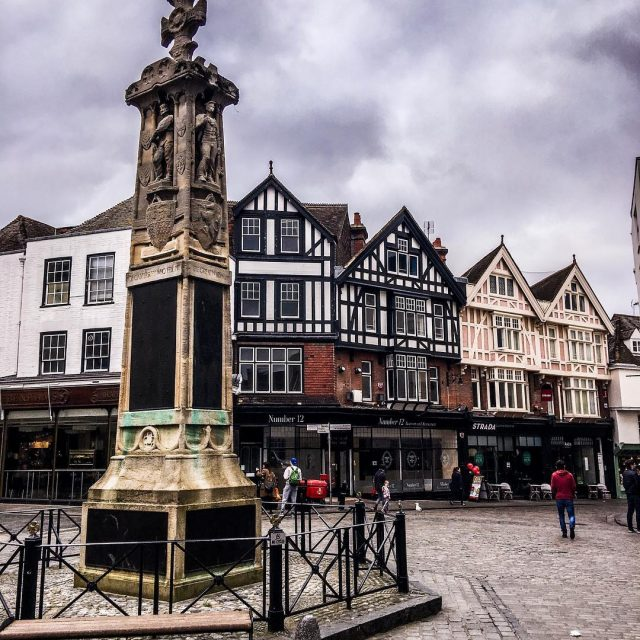 Exploring Canterbury on a cloudy day    hellip