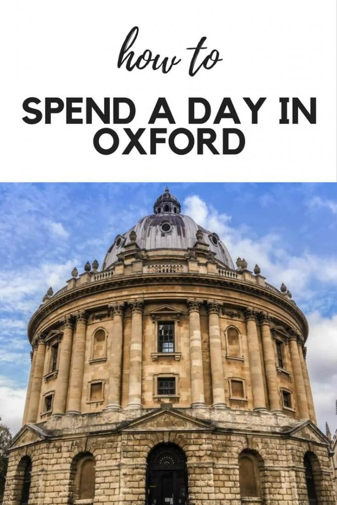 spend a day in oxfort