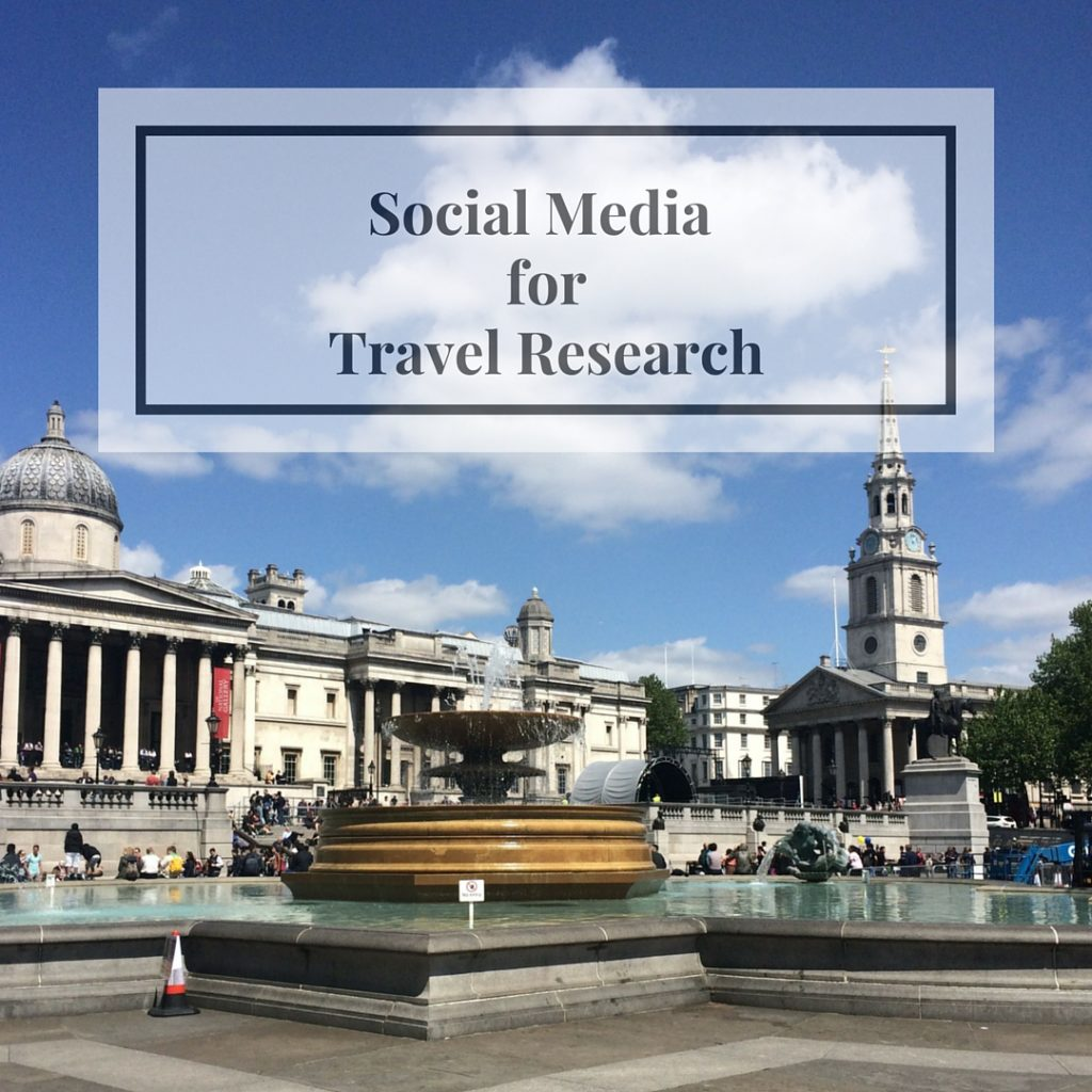 Social Media Travel Research