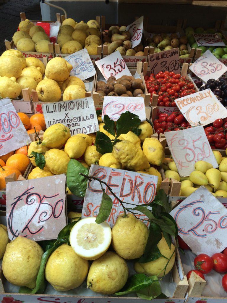 lemons sorrento italy amalfi coast