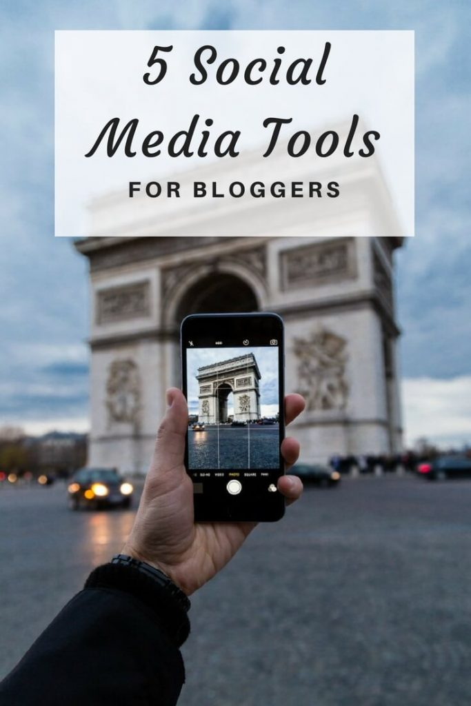 social media tools for bloggers