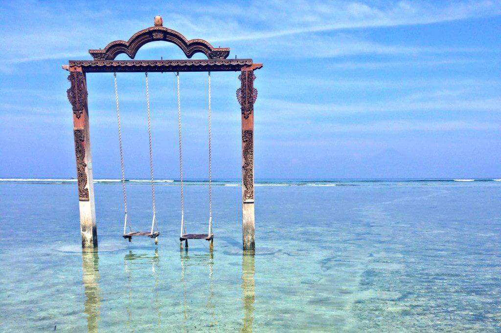 places in indonesia gili t