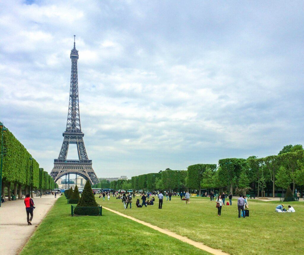 day trips from London Paris