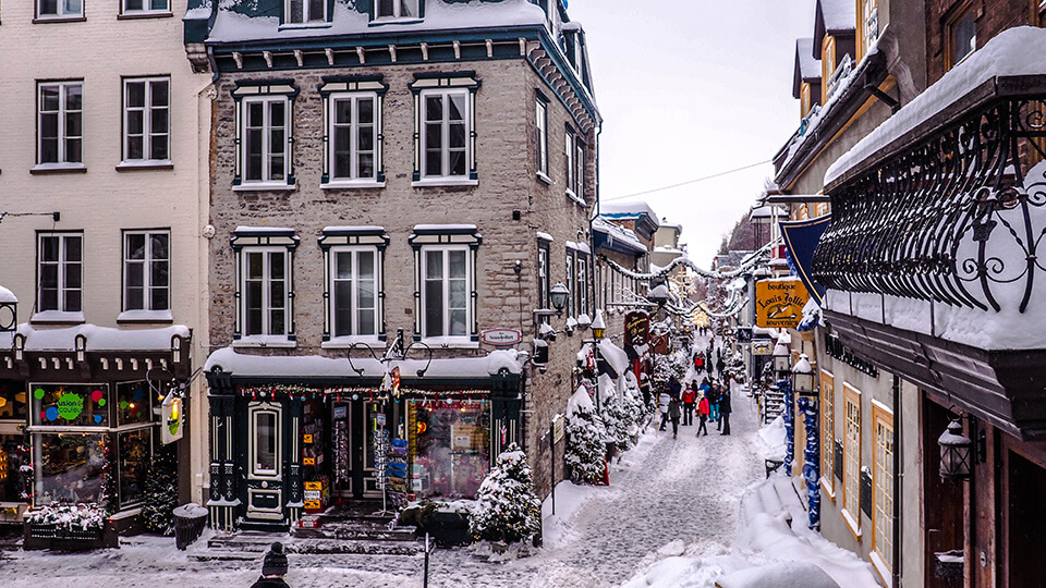 quebec city in a weekend