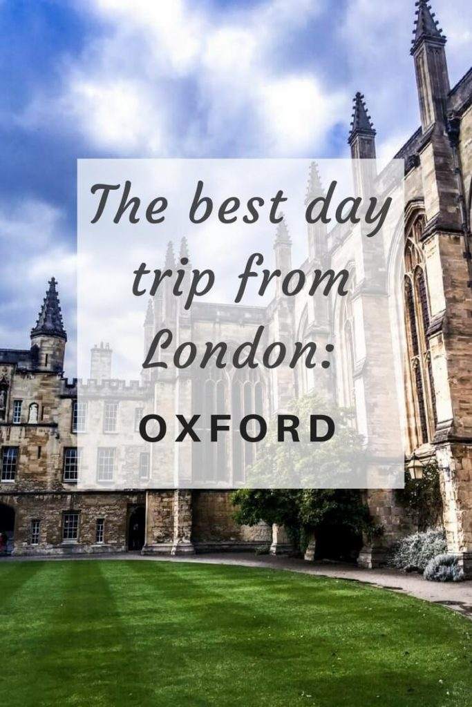 how to see oxford in a day