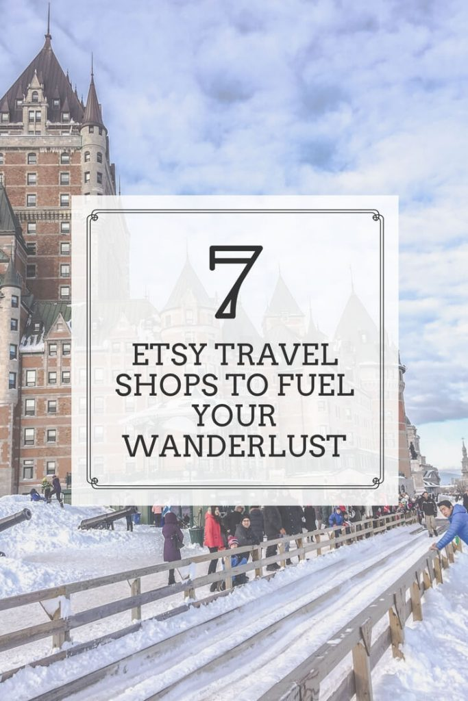 Etsy travel shops you need to see