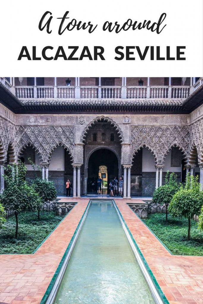 alcazar of seville spain