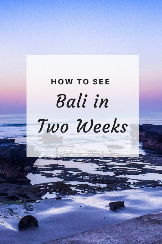 bali in two weeks