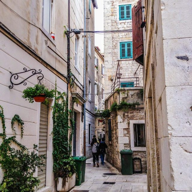 Wandering through the beautiful streets of Split   hellip