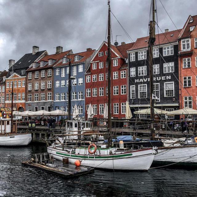 Exploring the beautiful Nyhavn canal     hellip