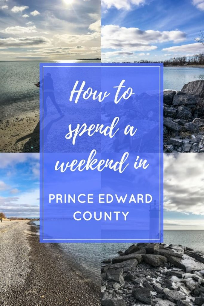 Spend a weekend in prince edward county