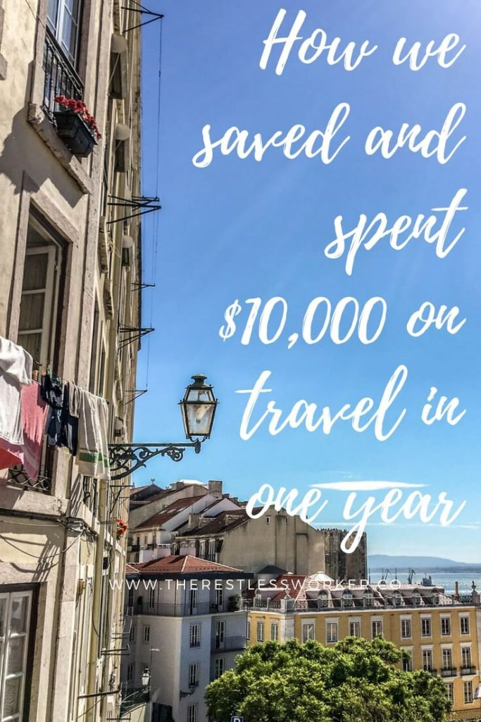 saved money for travel