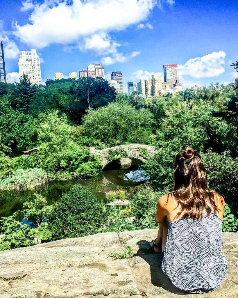 day in central park