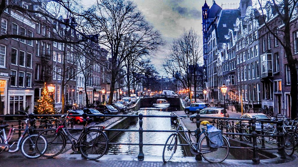 Christmas destinations in Europe Amsterdam