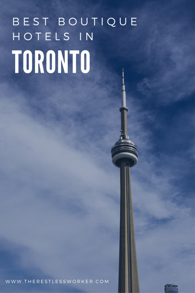 boutique hotels in toronto