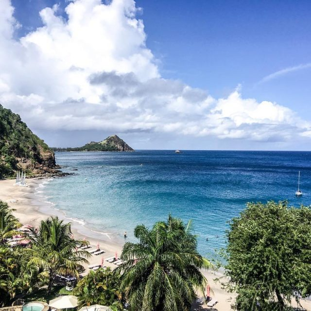 I could get used to views like this stlucia pigeonislandhellip