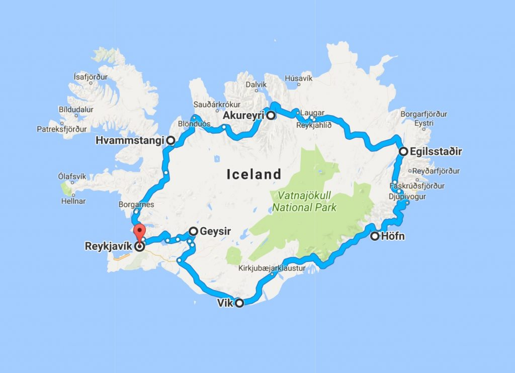 6 towns in iceland