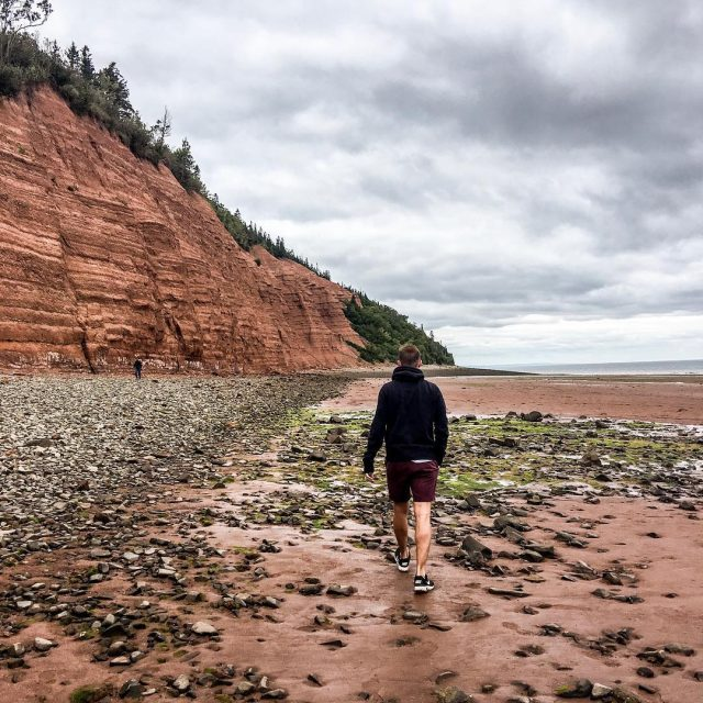 Blomidon park in Nova Scotia is known for having thehellip
