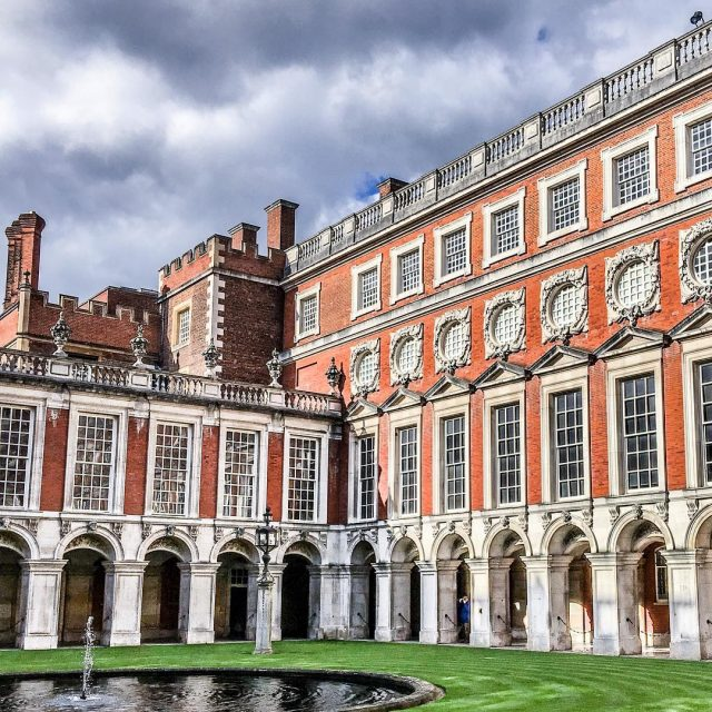 Hampton Court palace is an easy train ride outside ofhellip