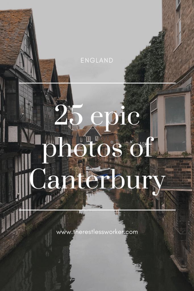 photos of Canterbury England