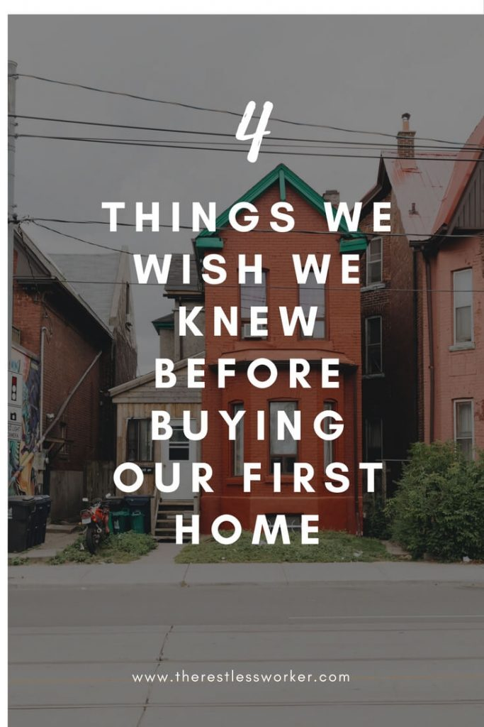 Toronto buying our first home