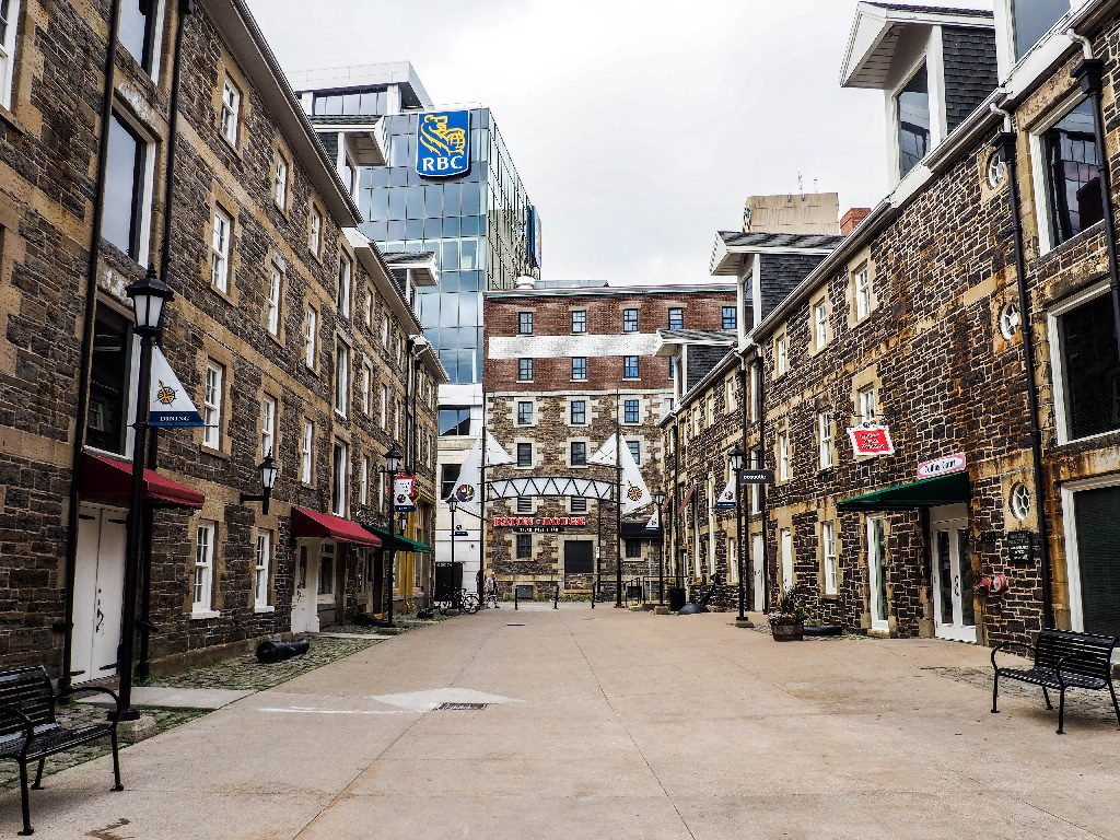 one day in Halifax