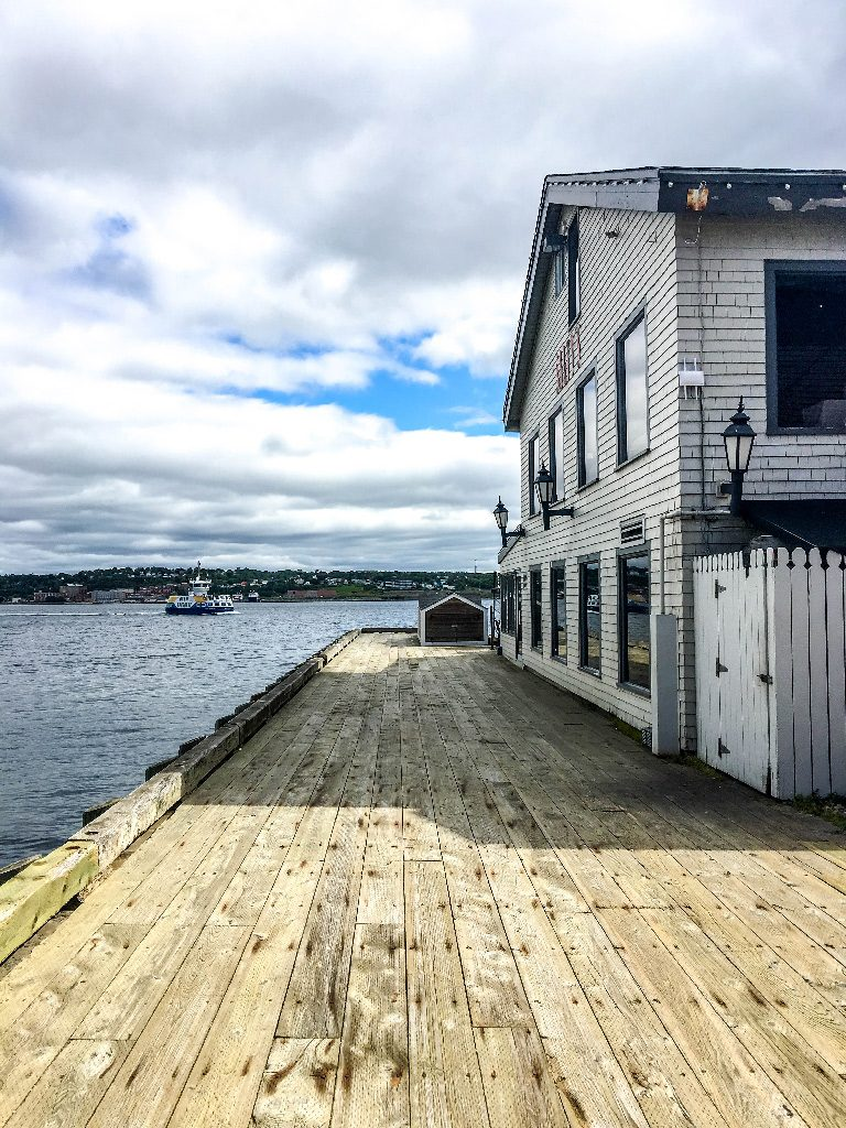 one day in halifax waterfront