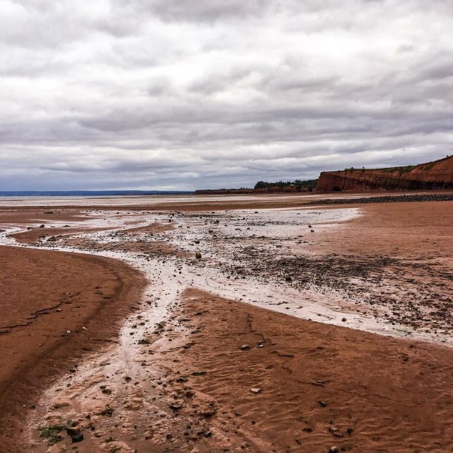 Blomidon Park in Nova Scotia has the worlds highest tideshellip