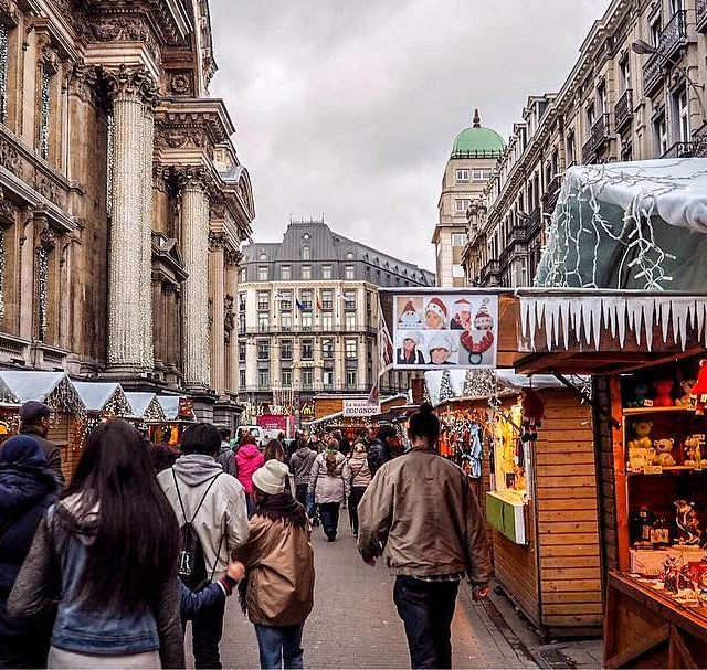 Whos ready for Christmas markets and mulled wine? Brussels christmasmarkethellip