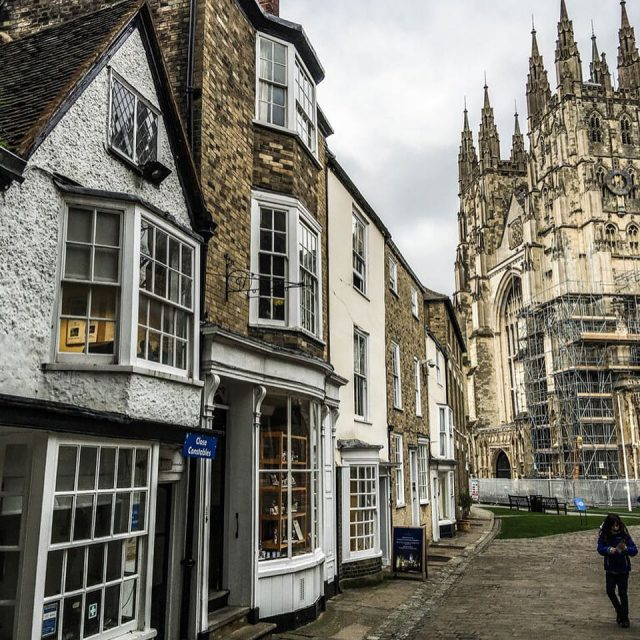 The Canterbury Cathedral was founded in 597 AD as thehellip