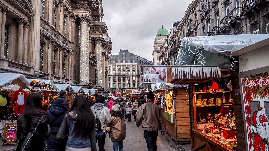 Brussels at Christmas time