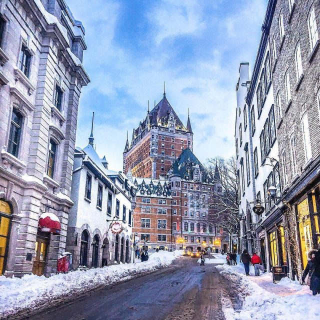 Is there anything more magical than Old Quebec City inhellip