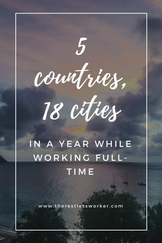 18 cities in one year