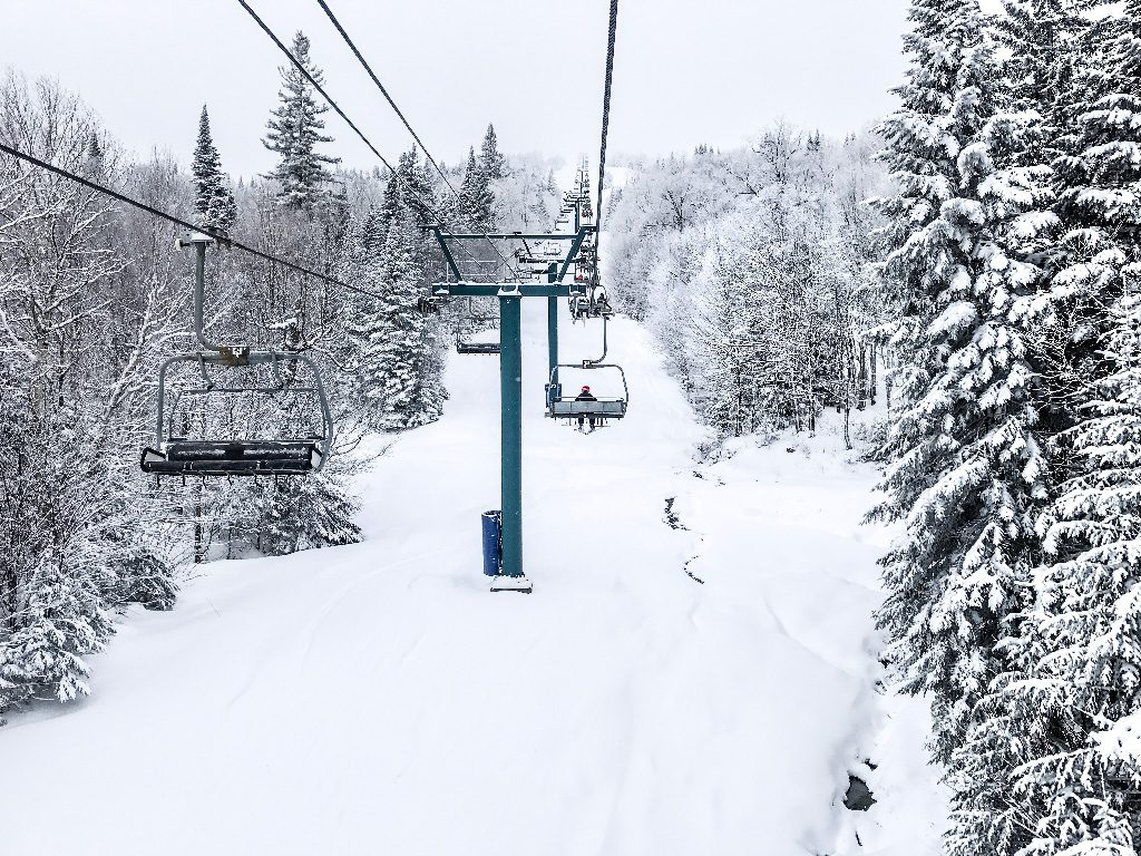 Mont Tremblant winter skiing