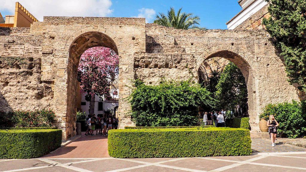 photos of seville real alcazar