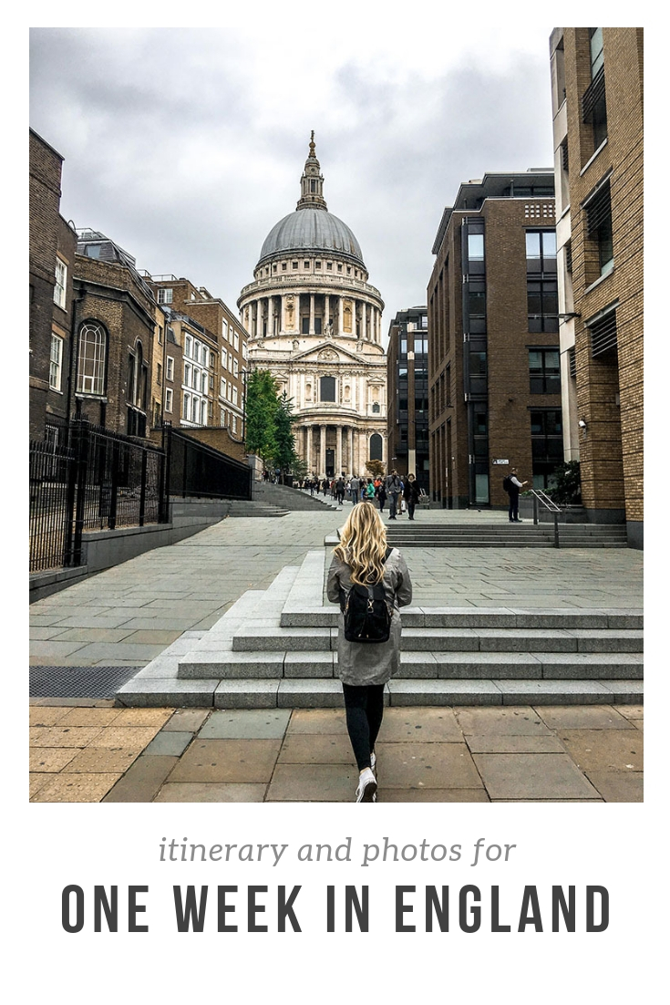 How to spend one week in England: itinerary and photos | The